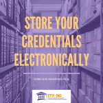 My Electronic Credentials Storage Wallet