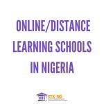 Online/Distance Learning Schools in Nigeria