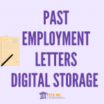 Electronically Store Your Past Employment Letter in Your Credential Wallet