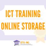 ICT Training Online Storage
