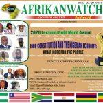 Akeredolu, UNILAG VC Ogundipe, others for Afrikanwatch lecture award.